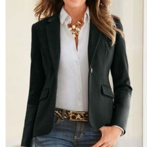 Black Women's Blazer by Worthington size 14T NWOT